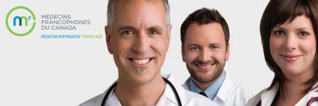 Le logo de l'organisme Médecins francophones du Canada