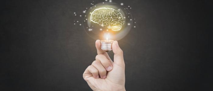 ampoule symbolisant l'idée trouvée suite à la recherche