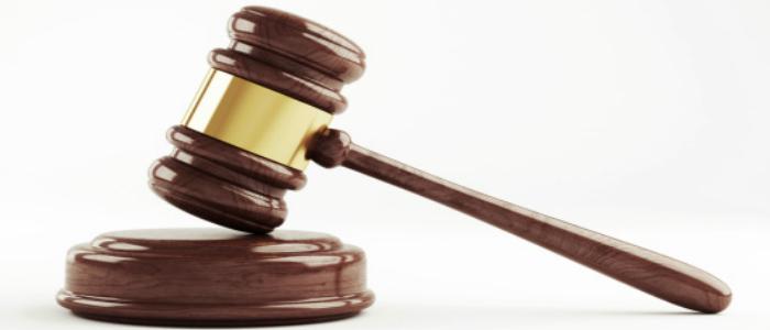 Image du marteau de la justice représentant les règles à suivre