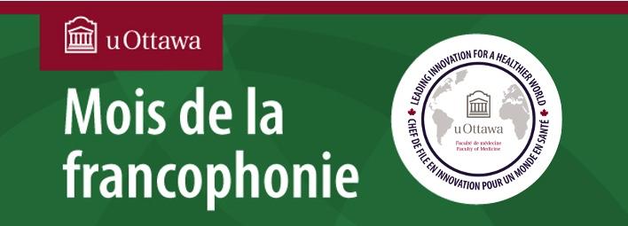 Bannière du mois de la francophonie