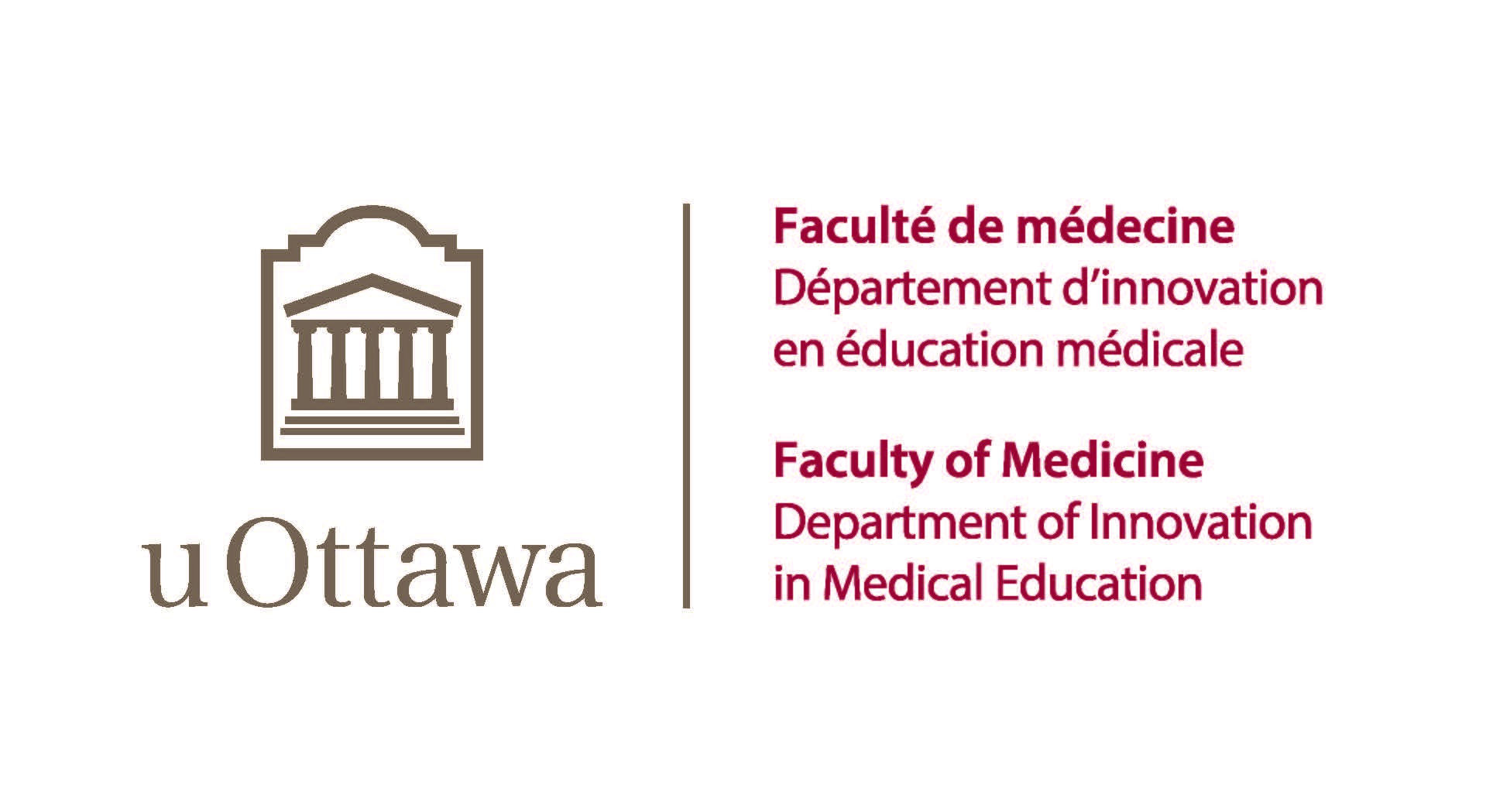 Logo du Département d'innovation en éducation médicale