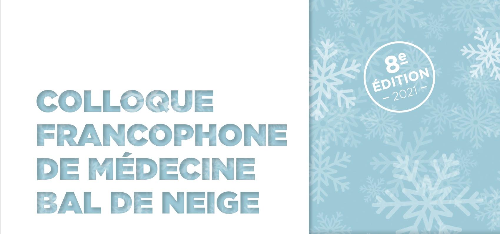 Colloque francophone de médecine BDN2021