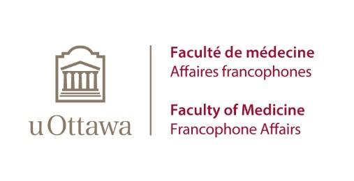 Logo des Affaires francophones de la Faculté de médecine de l'Université d'Ottawa