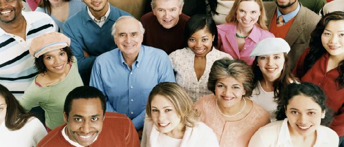 Photo représentant les membres du public