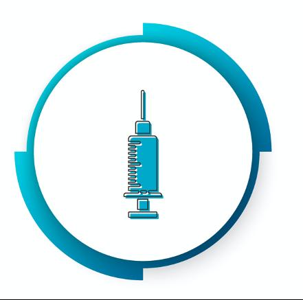 Seringue symbolisant le pharmacien