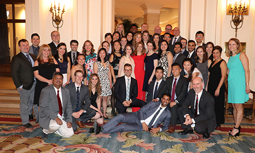 Department of Anesthesiology and Pain Medicine residents and program leadership members.