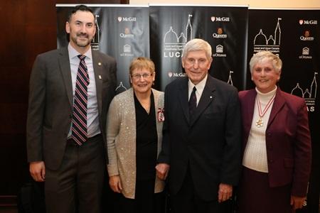 Dr. Jason McVicar, Dr. Joanne Douglas, Dr. J. Earl Wynands and Dr. Angela Enright
