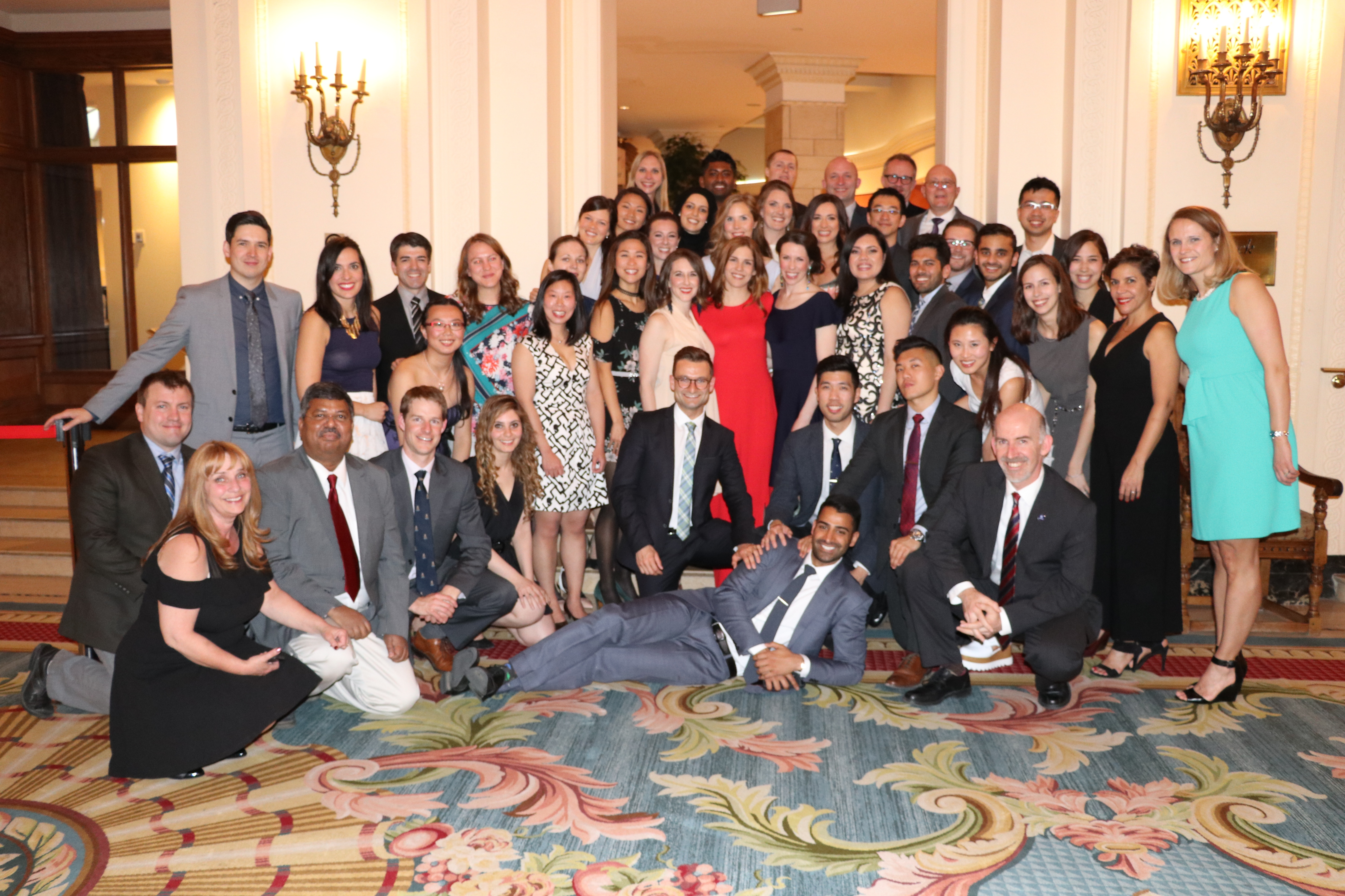Department of Anesthesiology Residency Program staff and residents