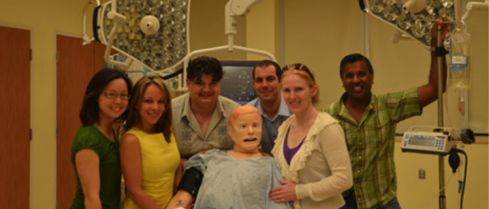 Anesthesiology and Pain Medicine simulation instructors