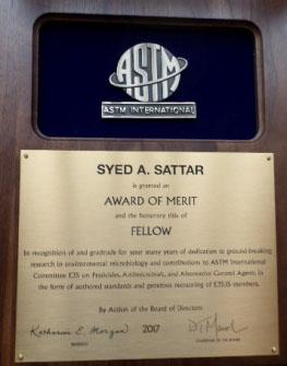 Award Sattar