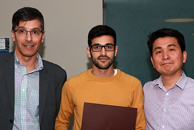 Dr. Daniel Figeys, Alaa Ali and Dr. Seung-Hwan Lee