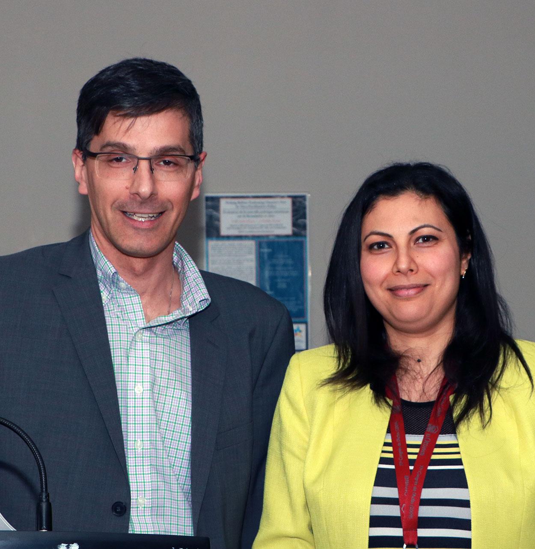 Dr. Daniel Figeys and Dr. Hiba Komati