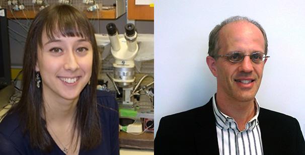 Jaimee Domville and John Baenziger