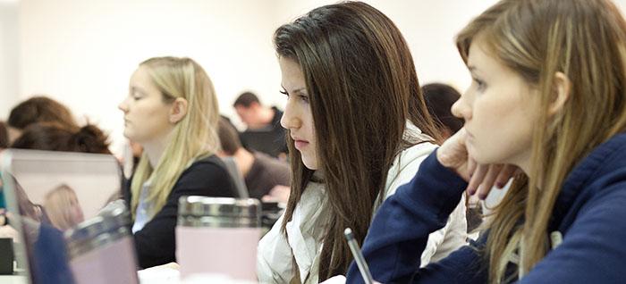 Undergraduate Students in the classroom