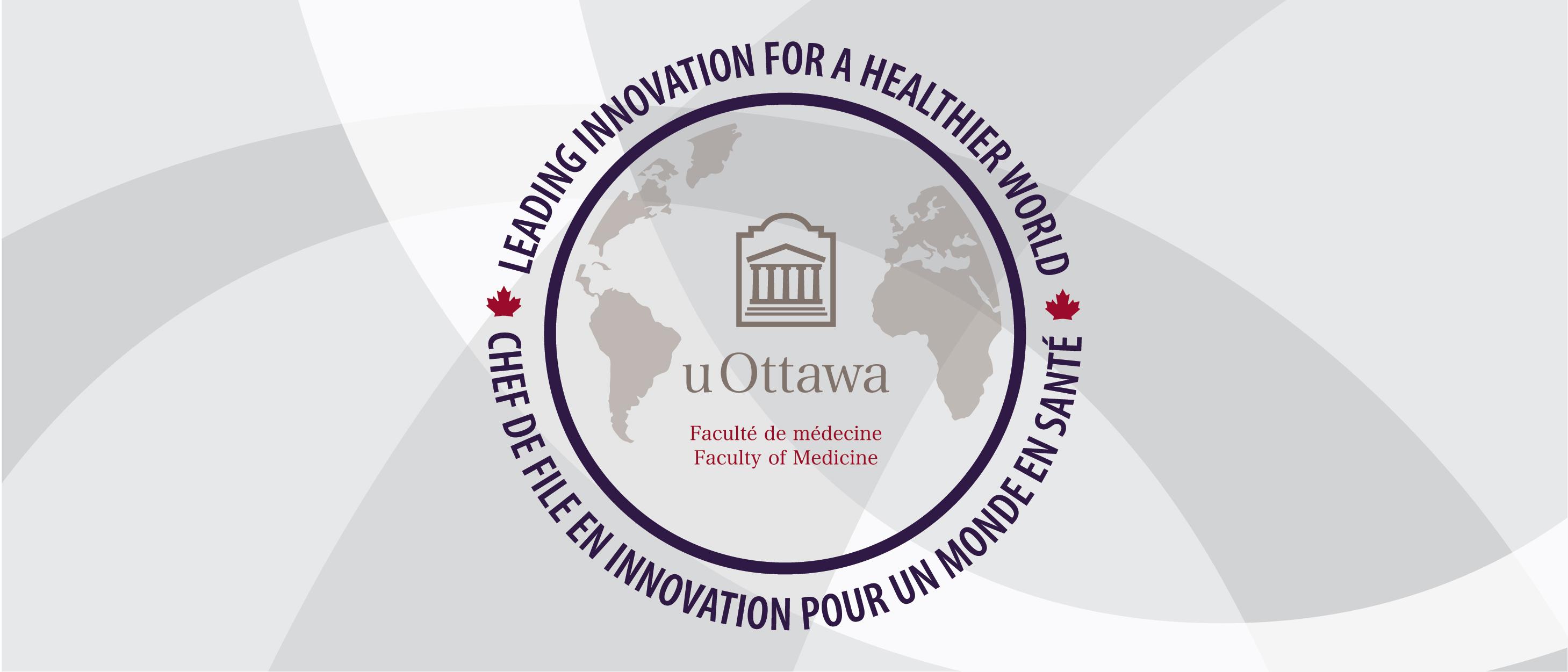 uOttawa Faculté de médecine logo banner