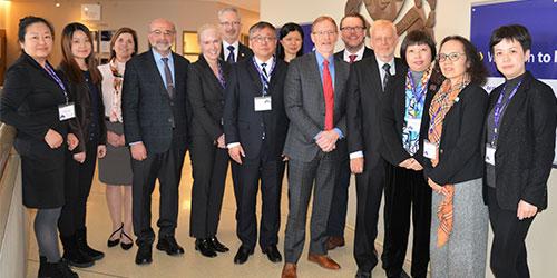 La visite officielle de la delegation de l'Universite Jiao Tong, Ecole de Medecine de Shanghai, a la Faculte de Medecine de l'Univ. d'Ottawa