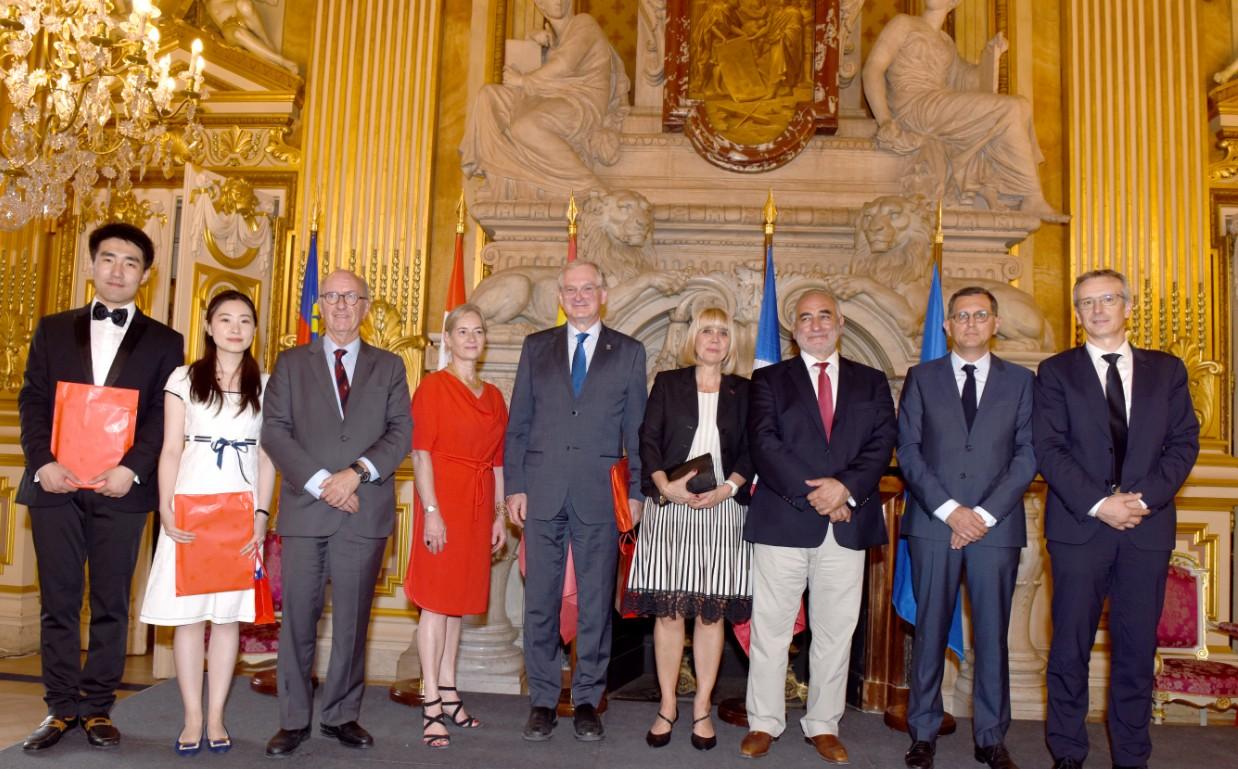 Membres des 4 universités partenaires participants au programme d'été a Lyon en 2018