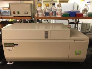 Jasco J-715 spectrometer for Circular Dichroism