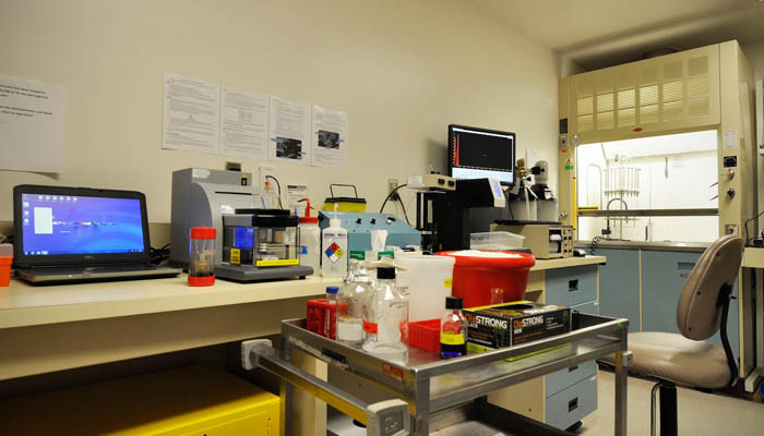 One of our common shared equipment rooms