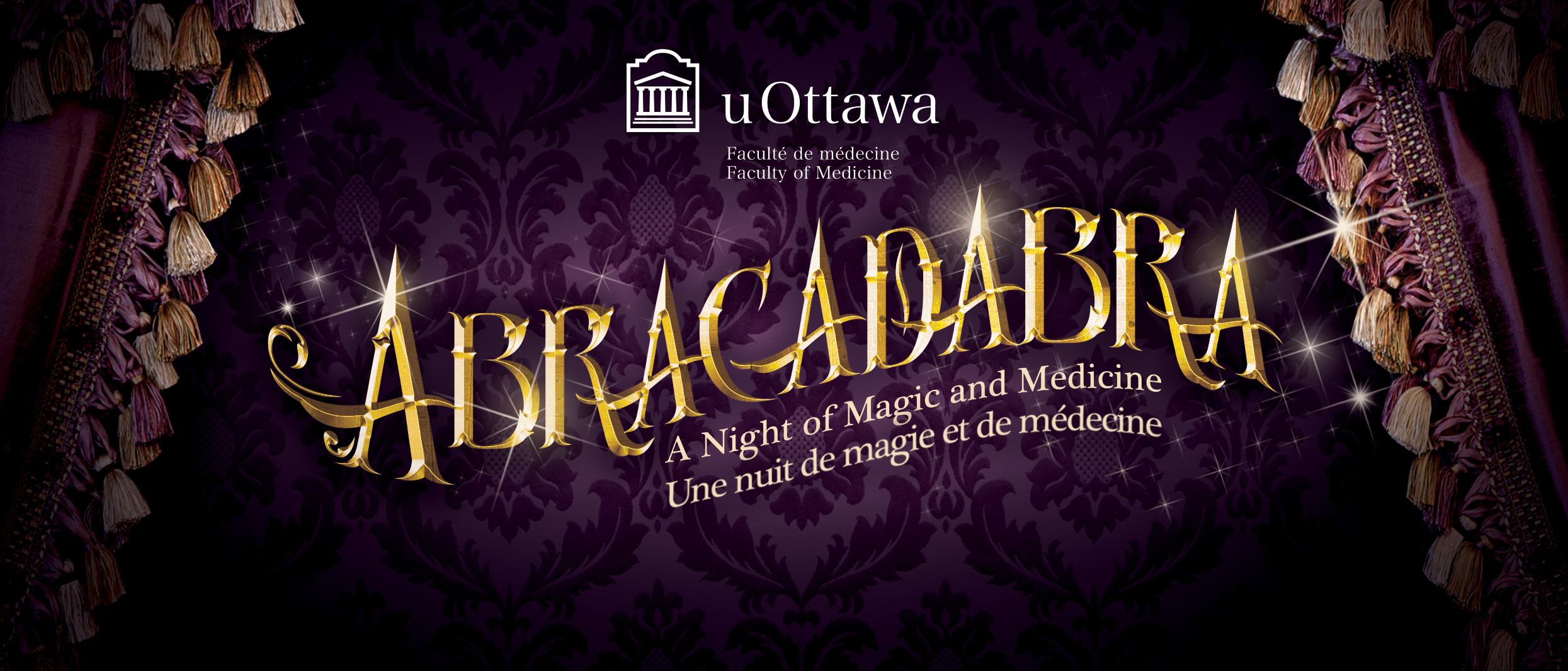 Abracadabra: A Night of Magic & Medicine 2017 banner