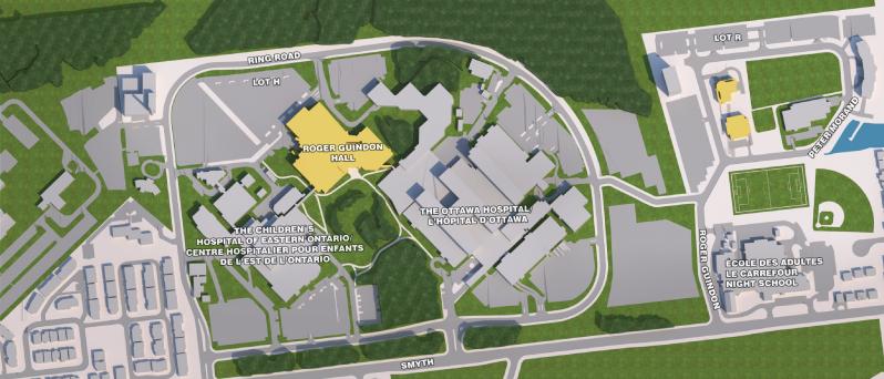 Image du campus Alta Vista ; Image of Alta Vista Campus