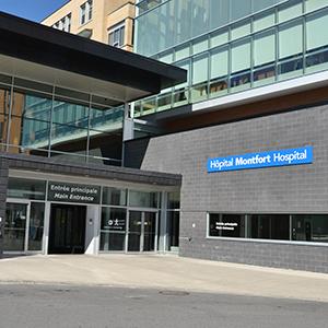 Volet francophone - l'Hôpital Montfort