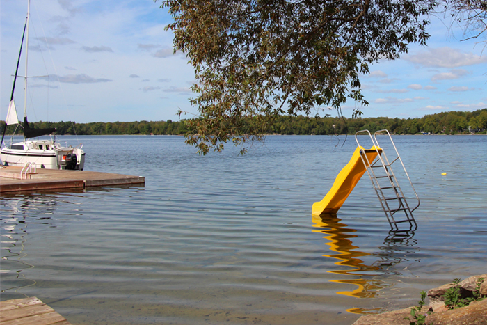 Camp Otterdale waterfront