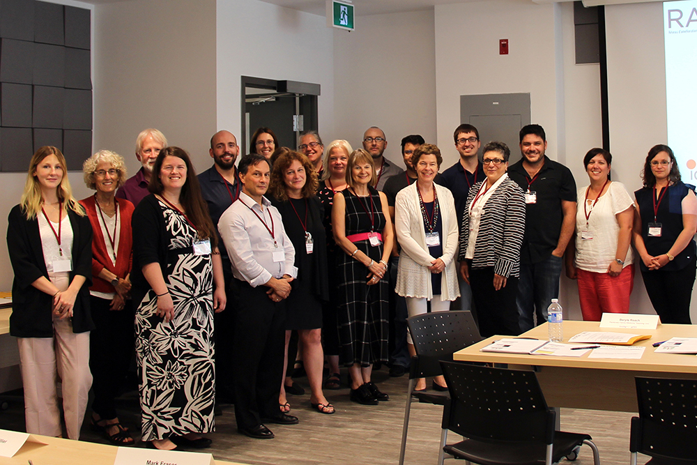Participants in OPEN's first Learning Collaborative Workshop on July 11, 2019