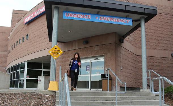 The Montfort Hospital Emergency Entrance