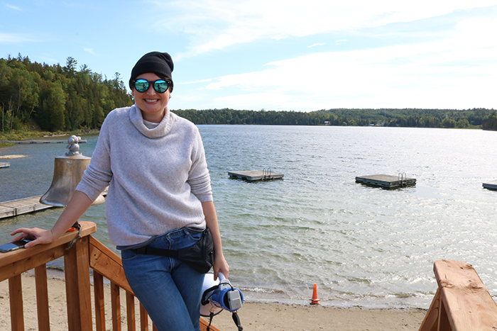 Dr. Kate Trebuss at St. Brigid's Camp