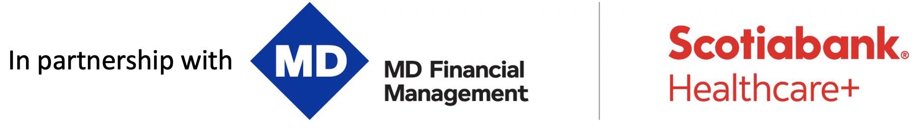 In partnership with Scotiabank Healthcare+ and MD Financial Management
