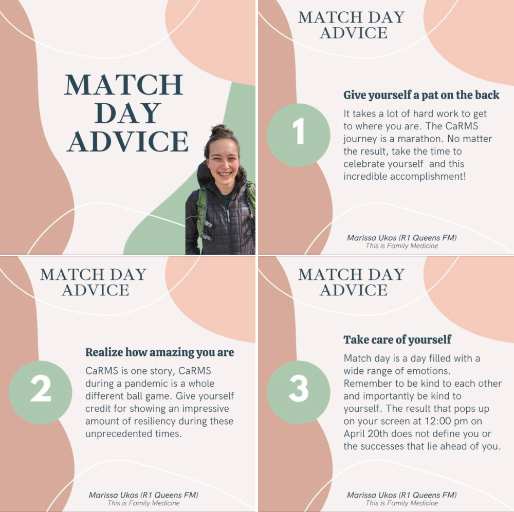 Dr. Marissa Ukos shares her tips for match day