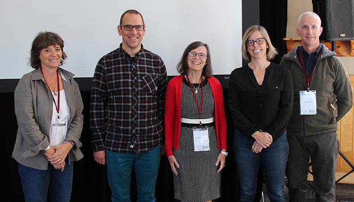 Dr. Marie-Hélène Chomienne, Dr. Doug Manuel, Dr. Dianne Delva, Dr. Liz Muggah and Dr. Jay Mercer