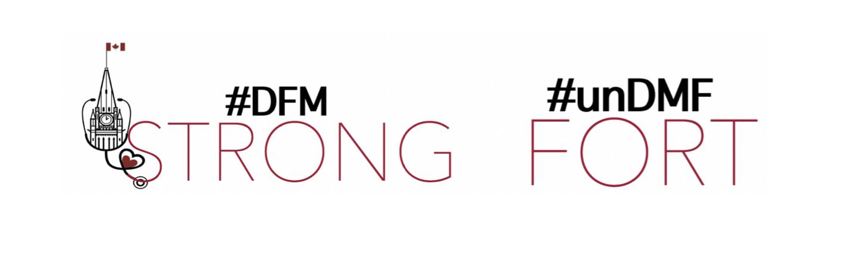 DFM strong logo