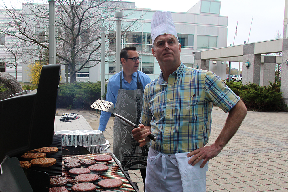 Dr. Ed Seale, Academic Day grill master