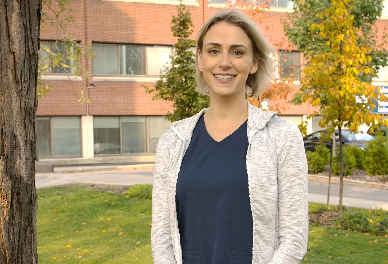 Program chief Dr. Julia Buthmann at the Ottawa Hospital