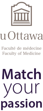 Match your passion and the Faculty of Medicine logo