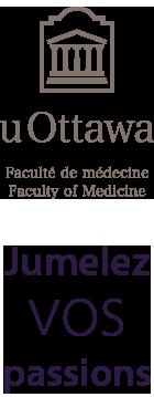 Jumelez vos passions et le logo de la Faculté de médecine
