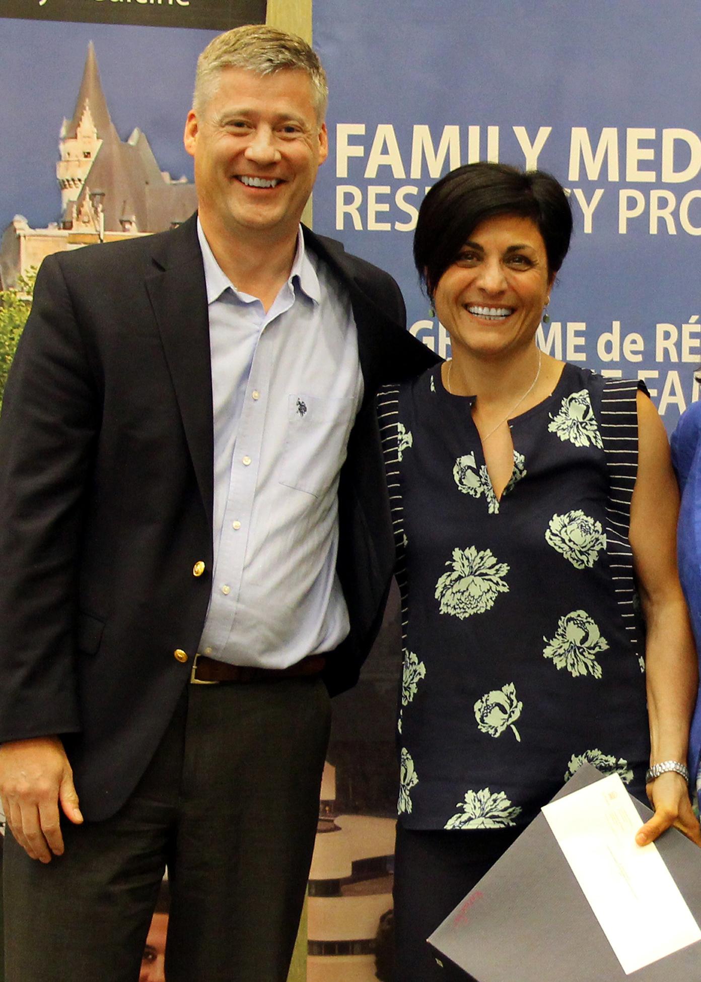 Dr. Doug Archibald and Dr. Parisa Rezaiefar
