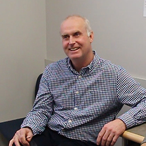 Dr. Ed Seale at his practice in Orleans, ON.