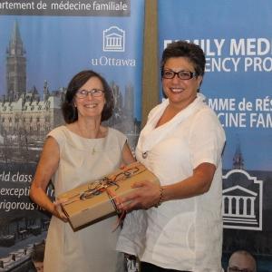 Dr. Dianne Delva and Dr. Simone Dahrouge