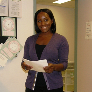 A Family Medicine resident at the Riverside Unit