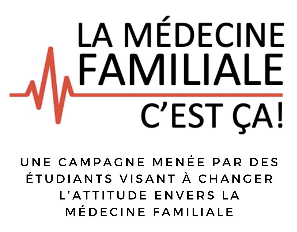 Logo This is Family Medicine (la médecine familiale, c'est ça!)