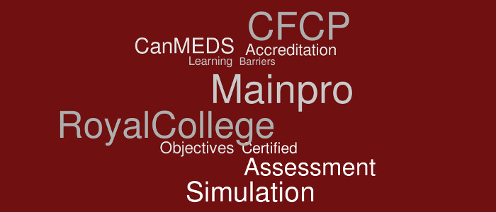 Accreditation terminology