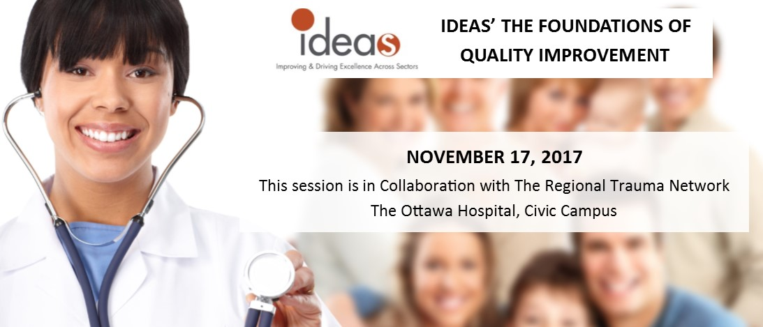 IDEAS' The Foundations of Quality Improvement - November 17 session