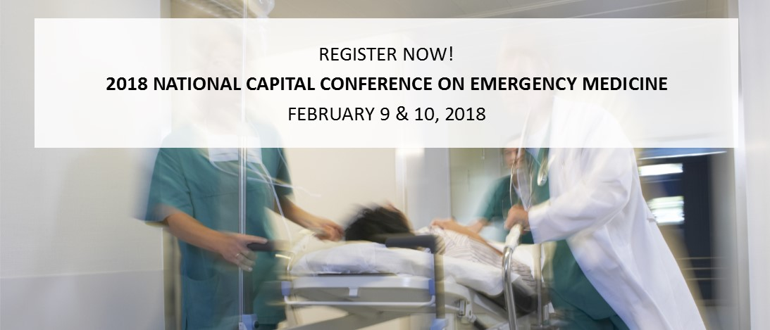 2018 National Capital Conference on Emergency Medicine