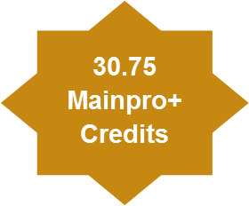 30.75 Mainpro+ Credits