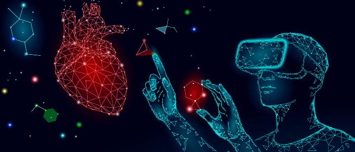 Image symbolisant la réalité virtuelle