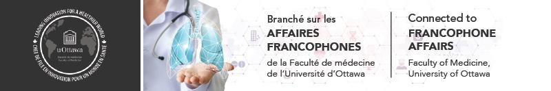 Bannière de l'infolettre des Affaires francophones