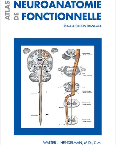 La couverture de l'Atlas de neuroanatomie fonctionnelle